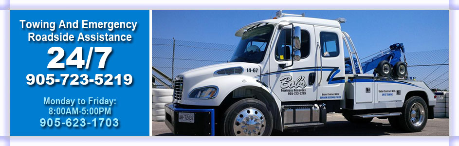 Towing And Emergency Roadside Assistance 24/7 | Bob's Towing truck